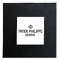 Черная подарочная картонная коробочка Patek Philippe для наручных часов