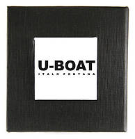 Черная подарочная картонная коробочка U-BOAT для наручных часов