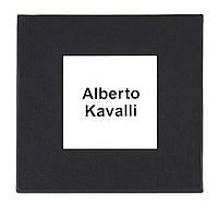 Черная подарочная картонная коробочка Alberto Kavalli для наручных часов