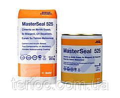 MasterSeal 525 - эластичное полимерцементное покрытие для гидроизоляции и защиты железобетонных и, 33 кг