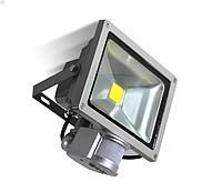 Светодиодный LED прожектор 20W с датчиком движения