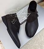 Чоловічі коричневі шкіряні черевики, фото 4