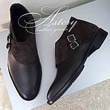 Чоловічі коричневі шкіряні черевики, фото 7