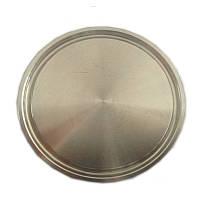 Заглушка клампа DN102 (наружный диаметр 119 мм), нержавеющая сталь AISI 304
