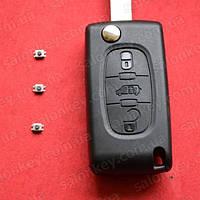Ключ Peugeot Expert  с 2007 г. Оригинал  + 3 кнопки