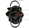 Женская сумка классическая в наборе сумка через плечо с кисточкой Tiffany Черный, фото 4