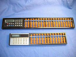 Abacus + цифровой калькулятор