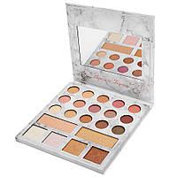 Палетка Теней и Хайлайтеров BH Cosmetics Carli Bybel Deluxe Edition - 21 Color Eyeshadow & Highlighter реплика