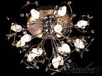 Галогенная люстра со светодиодной подсветкой 8069