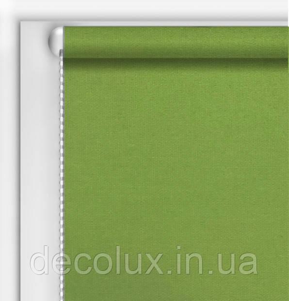 Тканевый ролет Камила Зеленый (Германия)