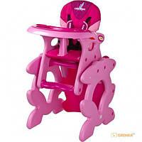Стульчик для кормления Caretero 'Primus' (pink) (114400)