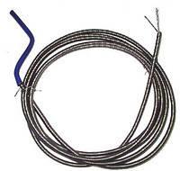 Гибкий шланг для прочистки водопроводных труб и санузлов, ⌀8, длина 8 м, трос сантехнический