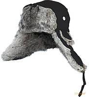 Шапка-ушанка Norfin Ardent L чёрная (115450)