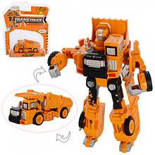 Трансформер робот+самоскид
