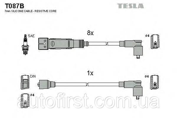 Автомобильные провода зажигания Tesla T087B для Mercedes
