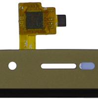 Сенсор, тачскрин телефона BRAVIS A553, золотой