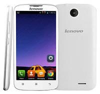 "Смартфон Lenovo A560 White 2sim, 3G, экран 5"" IPS, 4 ядра, GPS, Wi-Fi, Android 4.3, 4Гб, 2Мп, 2000 мАч"