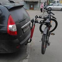 Багажник  на фаркоп для перевозки 3-х велосипедов Amos