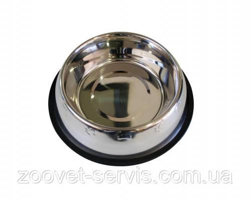 Миска для собак Croci с чеканкой на резинке С6059441, фото 2