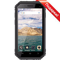 """✓Смартфон 4.5"""" E&L W6S, 1/8GB Black 4 ядра пылевлагозащита IP68 батарея 2600 mAh Android 7.0"""