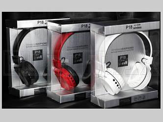 Наушники накладные с Bluetooth P18