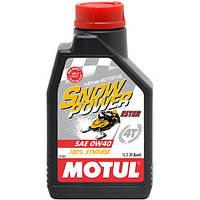 Моторное масло Motul Snowpower 4T 0W-40 1 л (826901 / 101230)