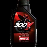 Моторное масло Motul 300V 4T Factory Line Road Racing 10W-40 1 л (836111 / 104118)