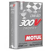 Моторное масло Motul 300V Trophy SAE 0W-40 2 л (825402 / 104240)