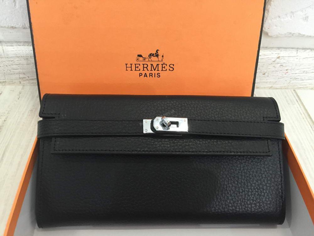 02d8cde33ec6 Кожаный стильный кошелек Hermes 0501 - купить по лучшей цене в ...