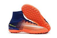 Сороконожки Nike MercurialX Proximo II оранж