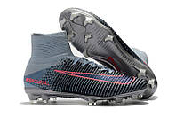 Мужские бутсы Nike Mercurial Superfly V FG grey