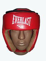 Шлем для единоборств Everlast. Кожа.