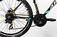 """Горный велосипед ARDIS CROSS 3000 МТВ 26""""  21"""" Черный/Голубой, фото 5"""