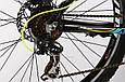 """Горный велосипед ARDIS CROSS 3000 МТВ 26""""  21"""" Черный/Голубой, фото 6"""