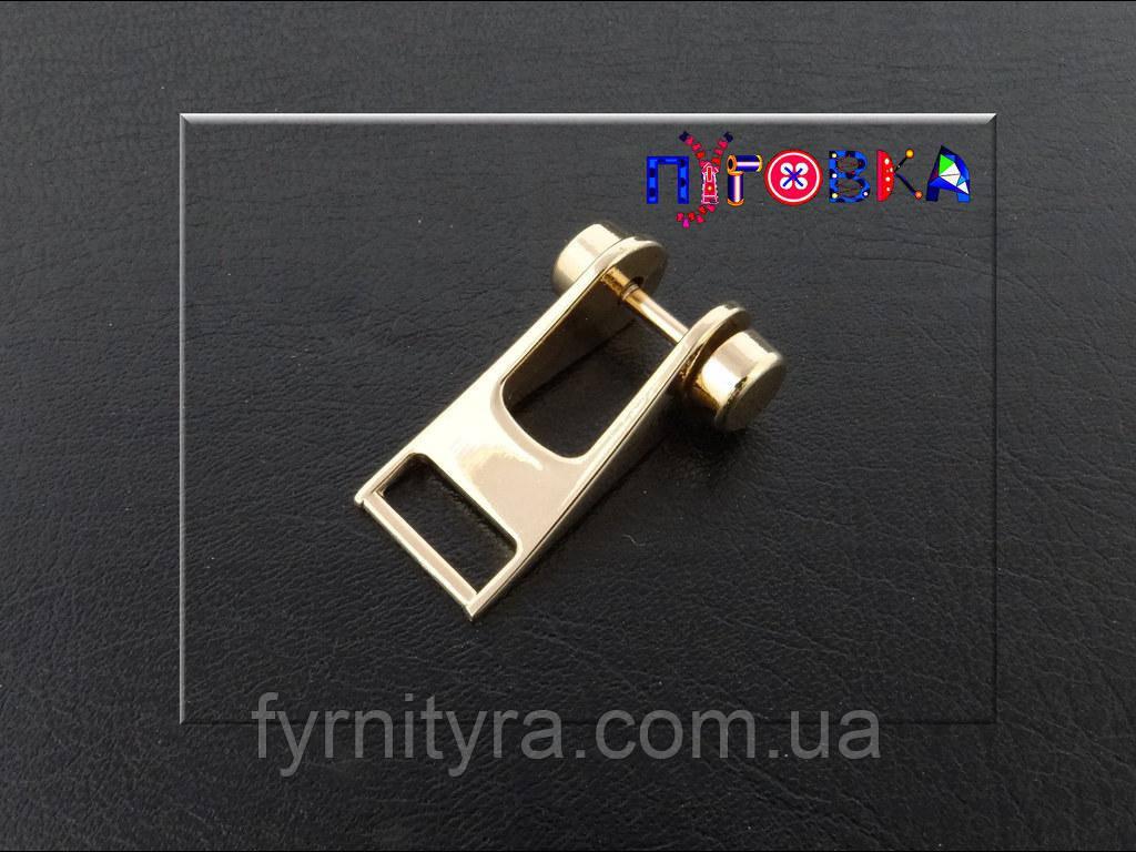 Ручкодержатель верхний 15мм gold
