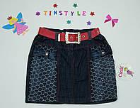 Джинсовая юбка для девочки, фото 1