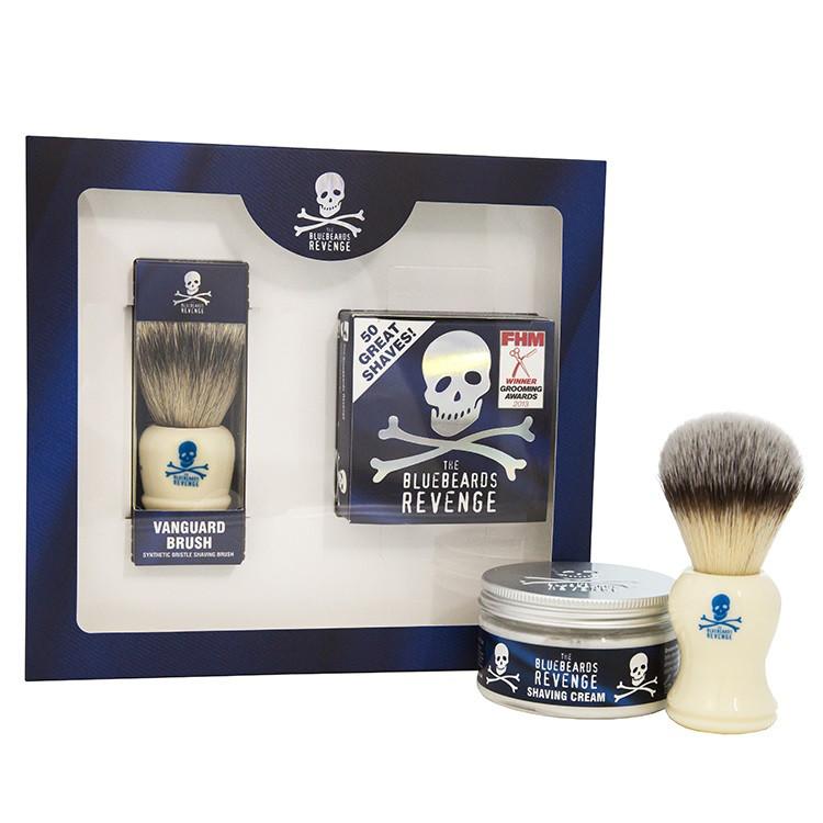 Набор для бритья The Bluebeards Revenge Shaving Cream and Vanguard Brush Kit