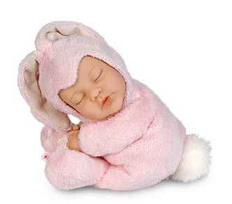 Кукла-младенец Розовый зайчик от Anne Geddes, фото 2