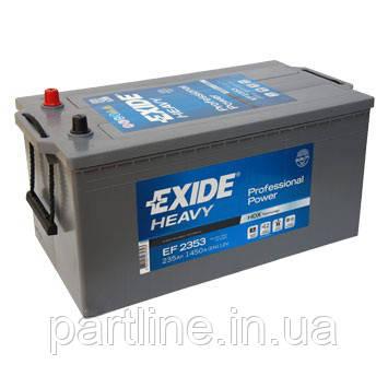 Аккумулятор EXIDE Professional Power 6СТ-235 ( ЕF2353 ), 1300En, габариты 518х279х240, гарантия 12 мес.