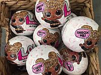 Кукла в шаре ЛОЛ Глиттер ОРИГИНАЛЬНЫЙ ШАР L.O.L Surprise! Glitter Series 1 Doll