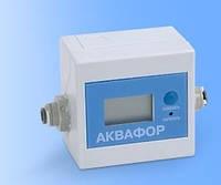 Индикатор ресурса воды Аквафор устанавливается между фильтром и отдельным краном