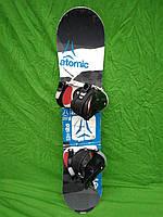 Сноуборд Atomic aia 120 см + нове кріплення