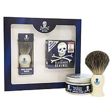 Набор для бритья The Bluebeards Revenge Shaving Cream and Badger Brush Kit