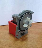 Насос (помпа) стиральной машины Bosch, на 4 самореза, выход сзади