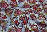 Ткань штапель цветочная поляна