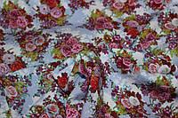 Ткань штапель цветочная поляна, фото 1