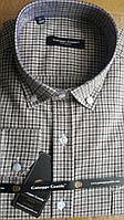 Кашемировая рубашка в клетку Guiseepe GENTILE (размеры L, XL)