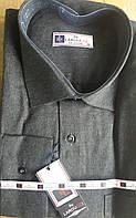 Кашемировая серая рубашка LAROUCCI (размер S.М.L)