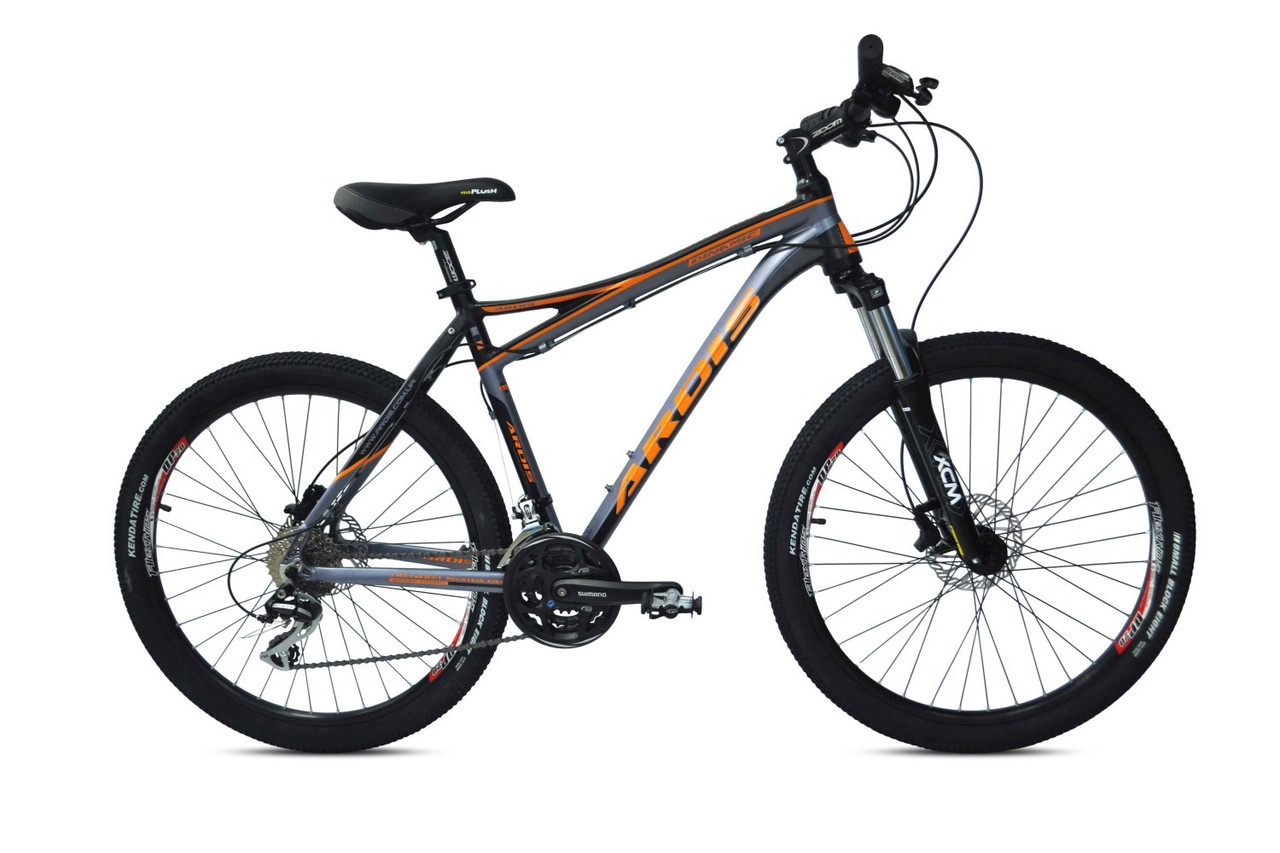 """Гірський велосипед ARDIS DINAMIC HB MTB 26"""" 19"""" Чорний/Помаранчевий"""