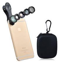 Профессиональный набор объективов для телефона 5в1 Apexel deluxe , фото 2